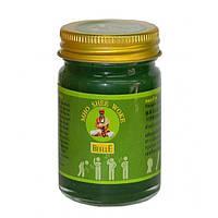 Зелёный тайский бальзам - обезболивающее с натуральным составом и высокой эффективностью / Mho Shee Woke / 50г