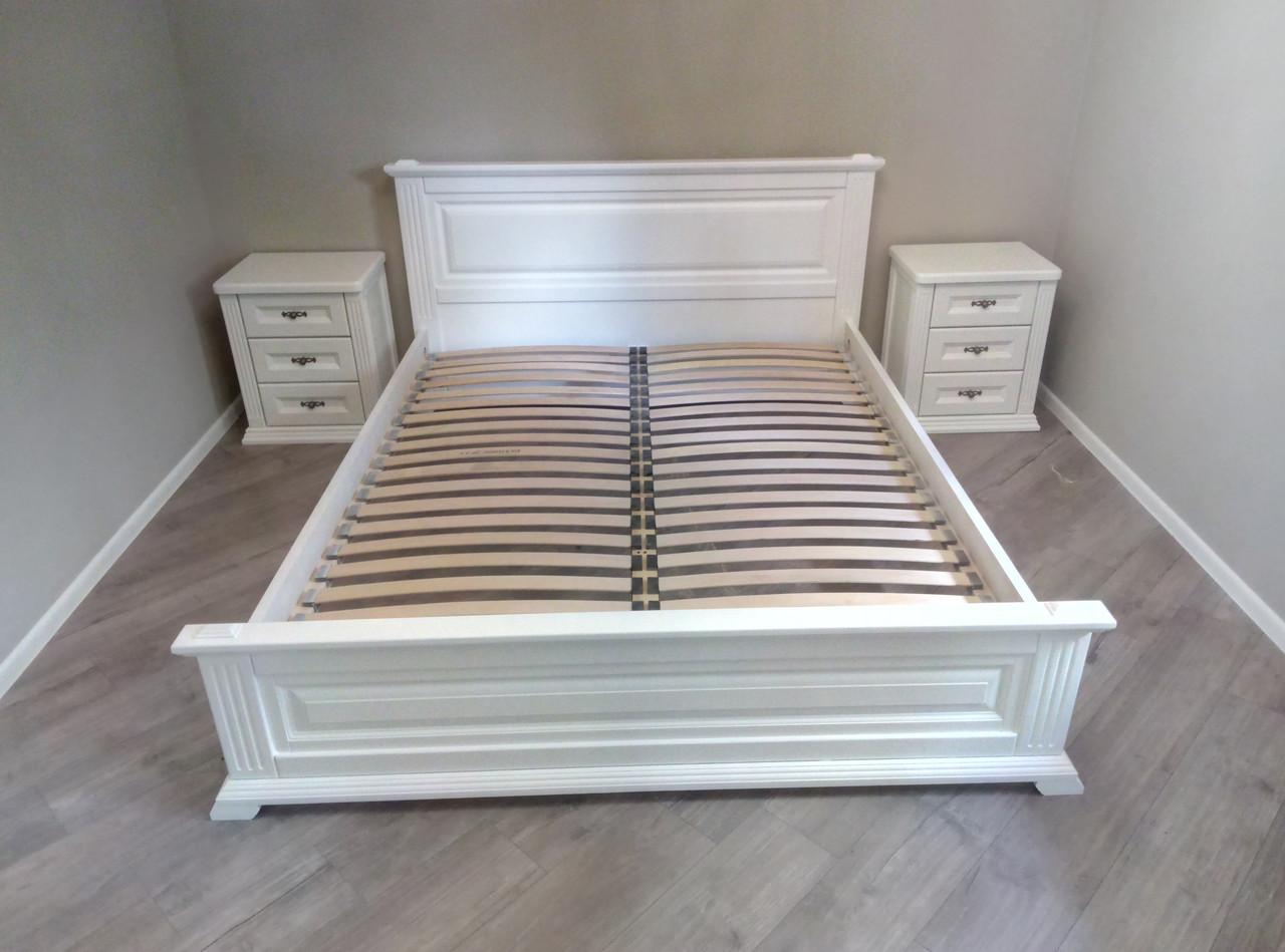 """Кровать двуспальная """"Прайм"""" 160*200 деревянная"""