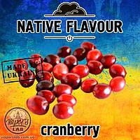 Жидкость Native Flavour Cranberry со вкусом клюквы  для  электронных сигарет  30, 100 мл