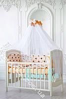 Комплект детского постельного для новорожденных без кармана, 8 предметов