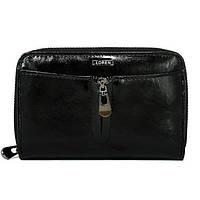 Женский кожаный кошелек Loren 55025-CD Black, фото 1