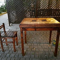 Чайный стол 85*60см для церемоний +стул
