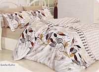 Комплект постельного белья, полуторный.  Бязь  Голд