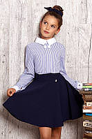 Пышная школьная   юбка  для девочки