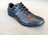 Кроссовки мужские кожаные кроссовки 41 -45 р-р, фото 1