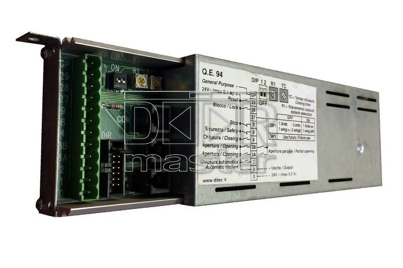 Блок управления на двери Ditec QE94