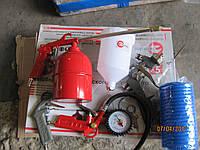 Набор покрасочный пневматический 5 единиц INTERTOOL PT-1502