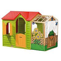 Детский игровой домик Садовый Little Tikes - США - с прозрачной верандой
