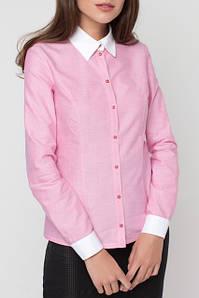 Блузки рубашки женские норма полуботал ботал