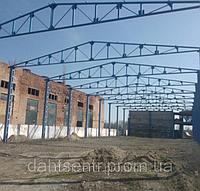 Ангар з металоконструкцій, 18х60 м