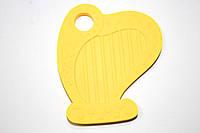 Арфа, силиконовый прорезыватель, желтый