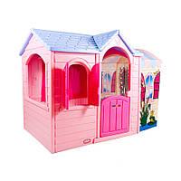 Детский игровой Домик Принцессы Little Tikes - США - прозрачная веранда как дополнительное пространство