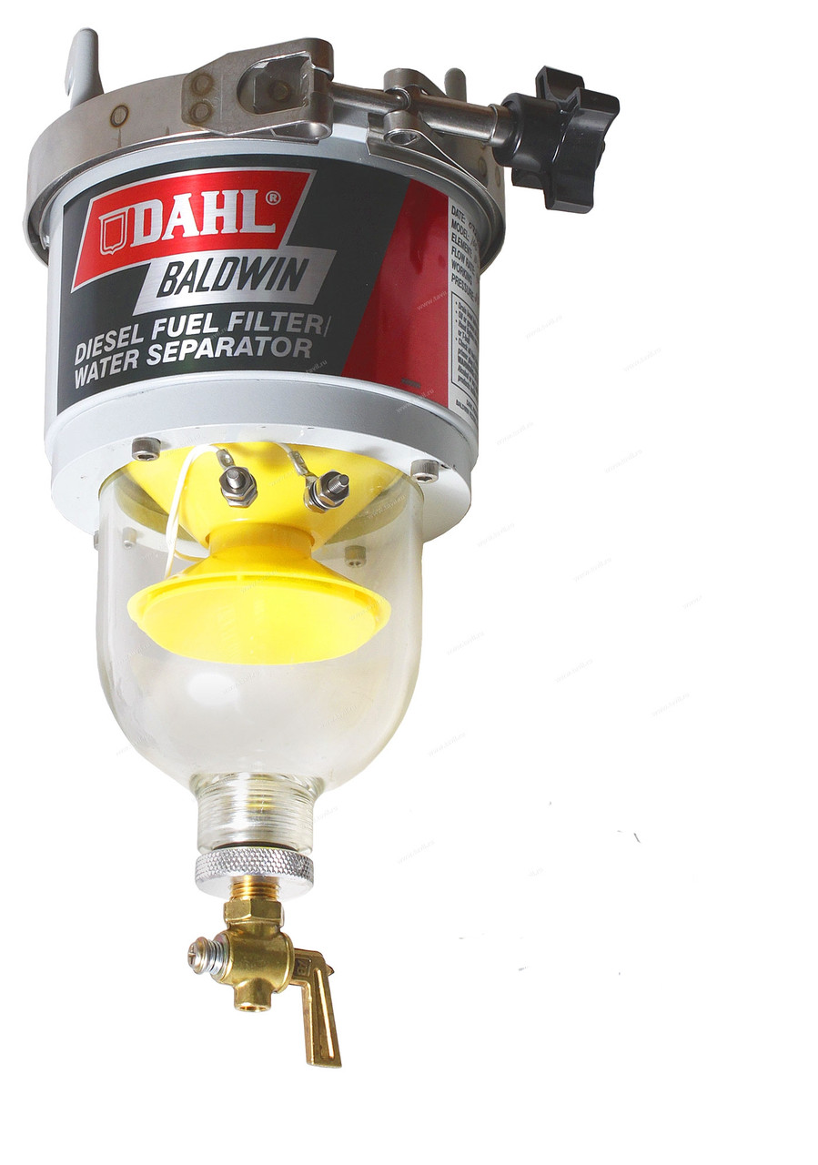 Сепаратор дизельного топлива с подогревом Baldwin DAHL 100-H