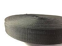 Тесьма  сумочная цвет черный 30 мм