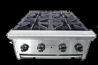 Плита газовая ТТ4-24  наст. 4-х конфорочная CustomHeat