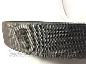 Тасьма сумочная колір чорний 50 мм