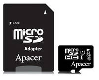 Карта памяти Apacer 32GB microSDHC 16 Gb UHS-I U1+adapter