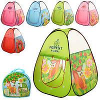 Детская игровая палатка ткань/сетка, вход на 2 стороны