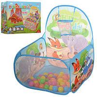 Детская палатка - манеж для игр, 2 вида
