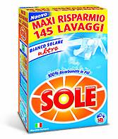 Порошок для стирки белого Sole Bianco Solare Италия 145 стирок