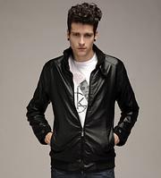 Мужская кожаная куртка. Модель 61125