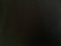 Трикотаж Рибана цвет черный чулок 60 см