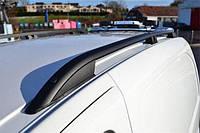 Рейлинги Renault Kangoo (2008-) /тип Crown,Черные, фото 1