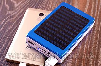 Солнечный Solar 25000mAh Powerbank Внешний аккумулятор для телефона и мощный фонарик