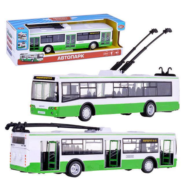 """Машинка Автопарк """"Тролейбус"""" арт. 9690 А"""