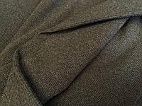 Трикотаж Рибана цвет темно серый чулок 60 см