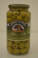 Оливки Bravo Aceitunas manzanilla без косточек, 1 кг