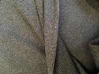 Трикотаж Рибана цвет  серый чулок 60 см