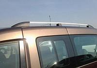 Рейлинги Renault Kangoo 2008- Skyline /Хром /Abs