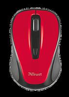 Мышь компьютерная Trust Xani Optical Bluetooth Mouse Red