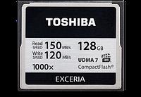 Карта памяти Toshiba Compact Flash 128 Gb 1000x (R150, W120MB/s)