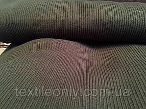 Довяз трикотажный цвет хаки 50 см