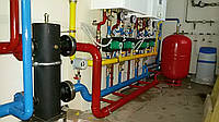 Монтаж систем отопления с стали пластика металопластика меди сварочные работы водяной теплый пол