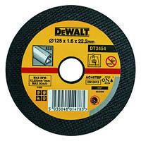Круг отрезной по алюминию Dewalt 125х2.5х22.2мм.