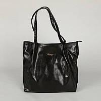 Женская сумка черная из искусственной кожи М81-Z