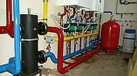 Монтаж систем отопления и разводка труб с стали, пластика, металопластика, меди, сварочные работы установка расширительного бачка
