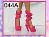 Летняя обувь для Барби (босоножки)