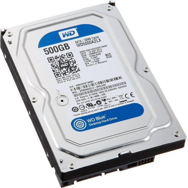 Жесткий диск Western Digital 500Gb 7200rpm 32Mb SATAIII WD5000AZLX - Интернет-магазин Unit PC в Николаеве