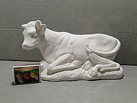 Гипсовые фигурки для раскрашивания статуетка Корова 22*12 см