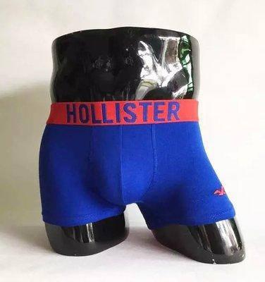 Мужские трусы боксёры Hollister (реплика) синие, фото 2