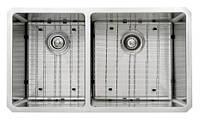 Кухонная мойка двойная под столешницу Kraus KHU104-33 81x48