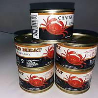 Краб камчатский  консервированный 240 грамм