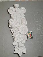 Гипсовые фигурки для раскрашивания статуетка букет цветов 38*13 см