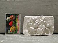 Гипсовые фигурки для раскрашивания статуетка Дед мороз и снеговик