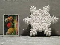 Гипсовые фигурки для раскрашивания статуетка снежынка