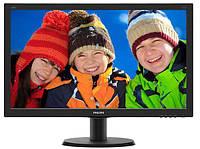 "Монитор Philips 23.8"" 240V5QDSB/01 16:9 IPS DVI HDMI Black"